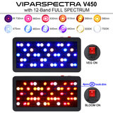 leds viparspectra r450